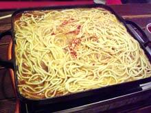 もつ鍋 腑腑(ふふ) 西新 チャンポン麺
